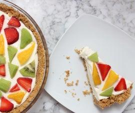 No-Bake Mosaic Cheesecake