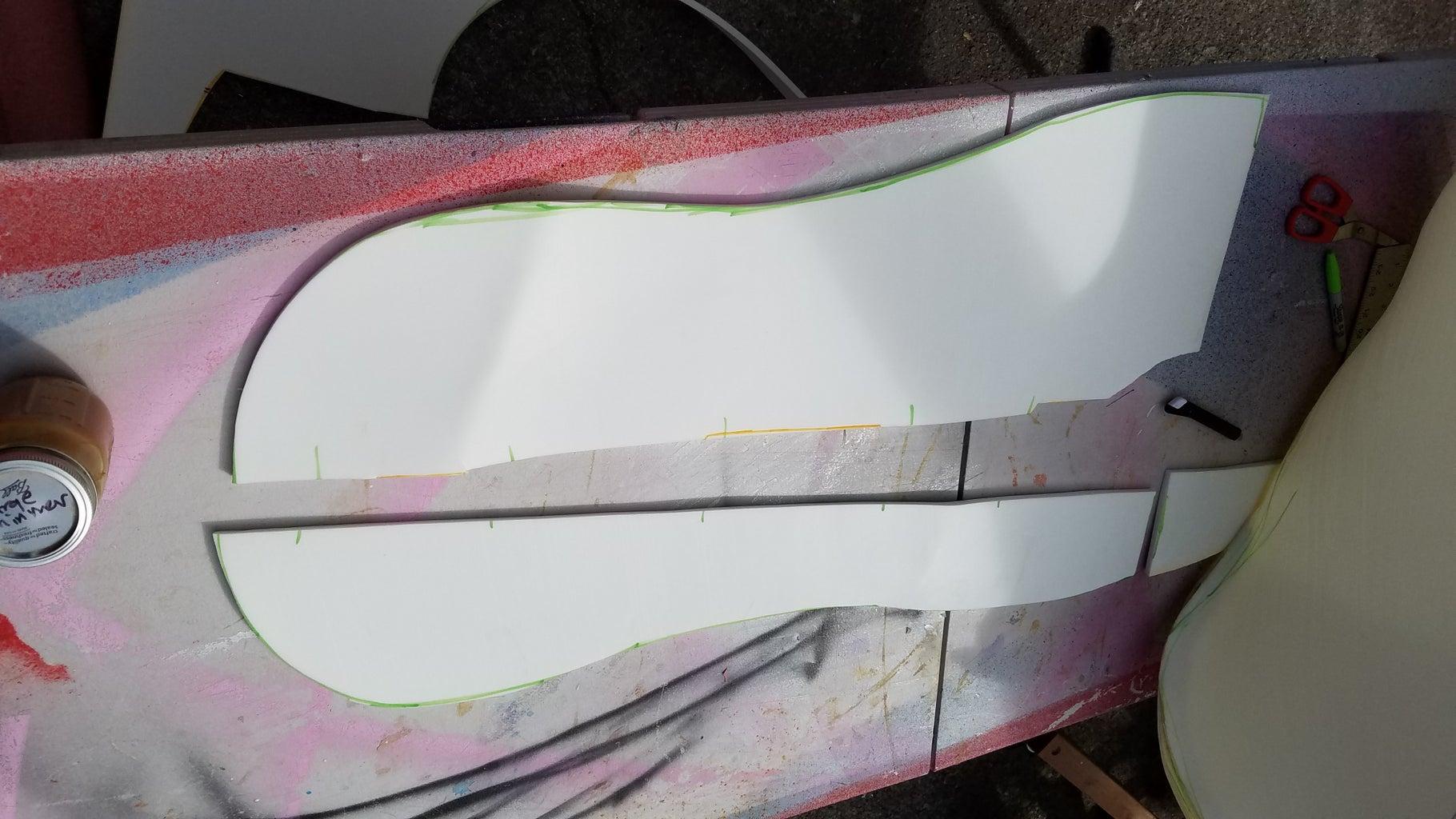 Foam Fabrication (project, Trace, Cut, Glue)
