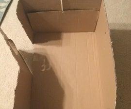 Cardboard to Sled