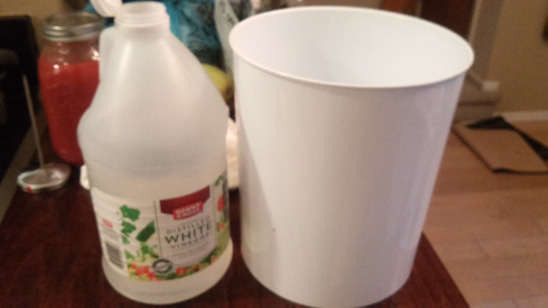 Mix Water and Vinegar