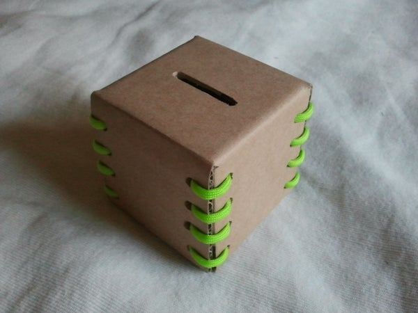 Cardboard Coin Bank