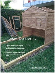 Assembling the Walls for Your Chicken Coop