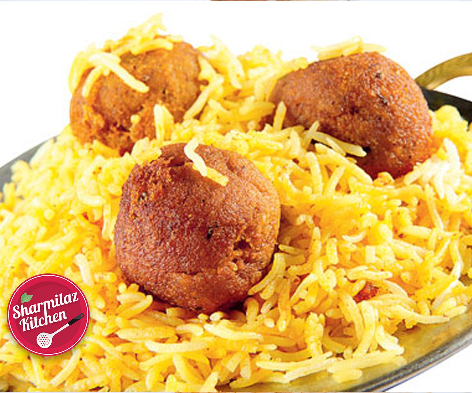 Murgh Noormahal Biryani (Chicken Kofta Biryani)
