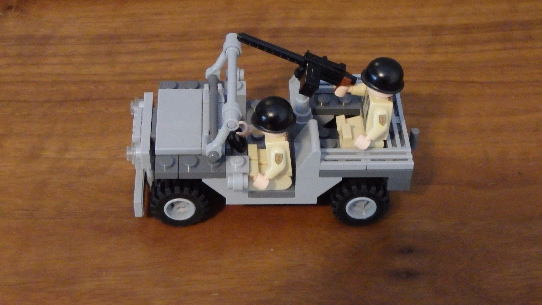 Creating the Jeep With Legos