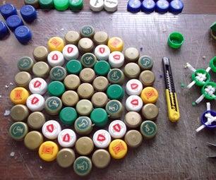 A Floor Mat From Plastic Bottle Caps (Experiment #1)