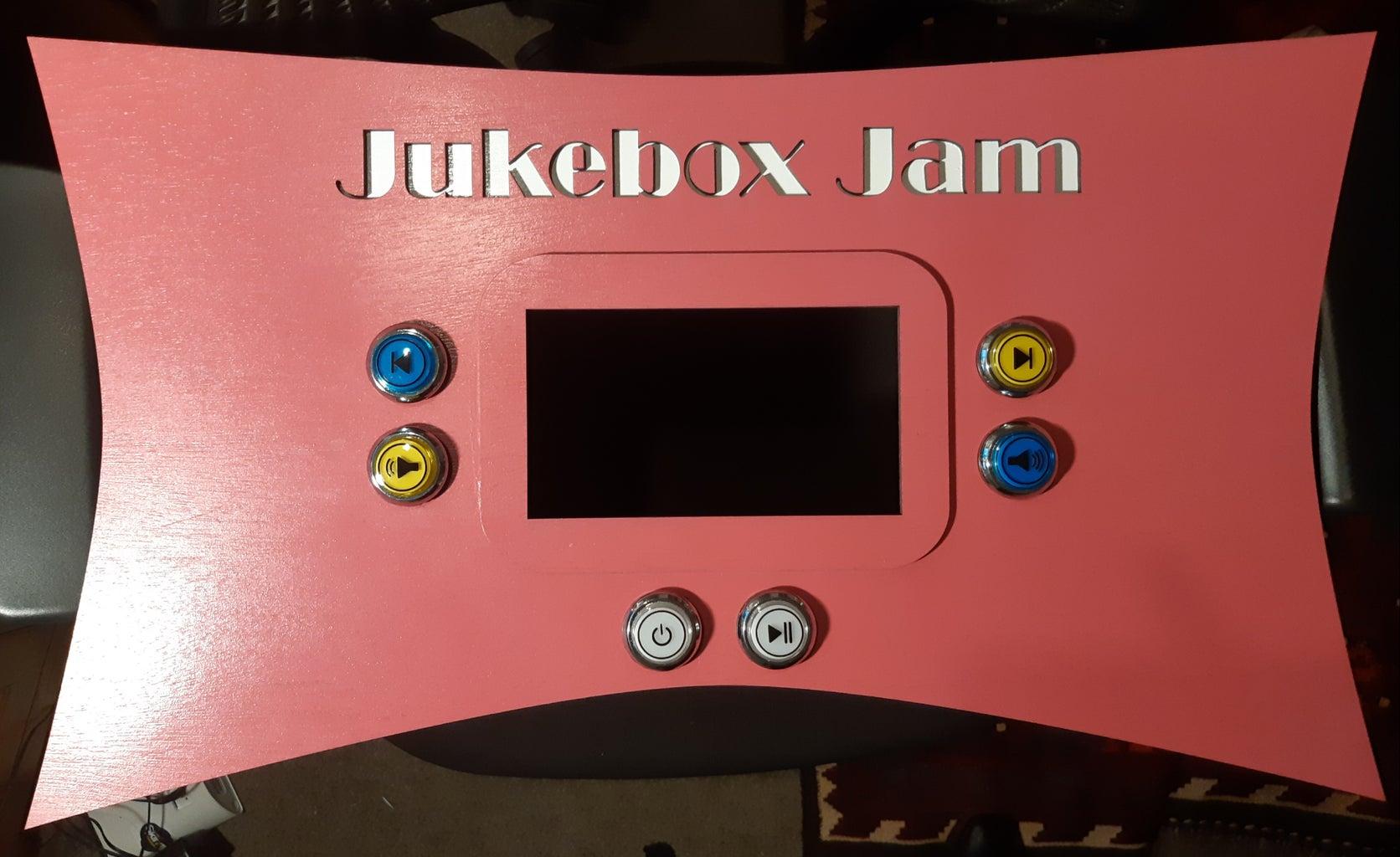 Jukebox Interface - Part 2