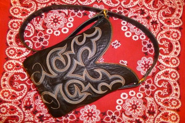 Cowboy Boot Purse
