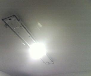 Mod Light Fixture to Low Watt PL