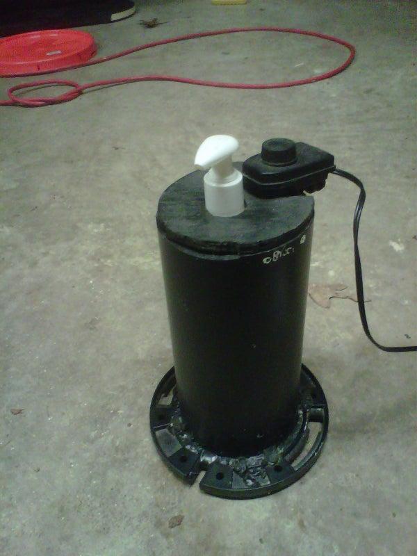 Lotion Warmer - Transform an Aquarium Heater