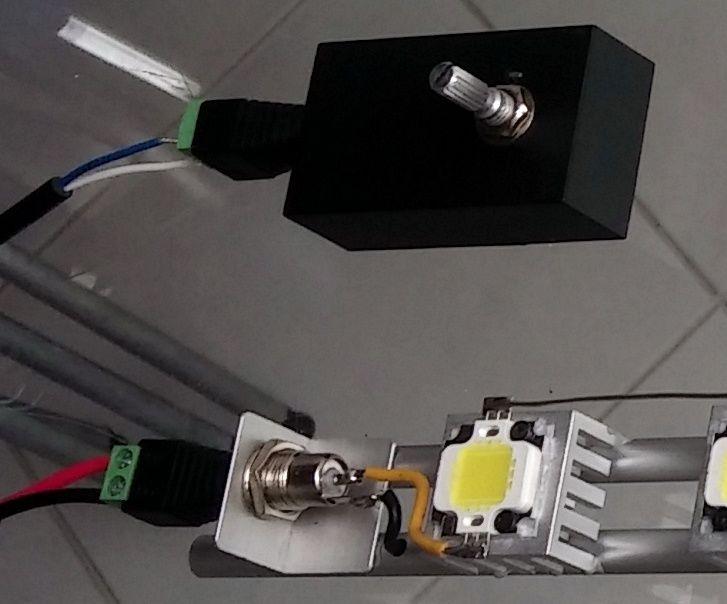 LED ramp 8x10 Watt dimmable