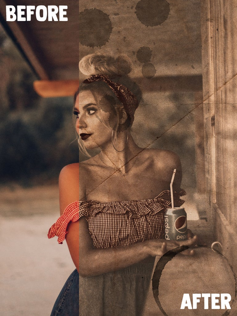 Easy Vintage Photo Effect in Adobe Photoshop