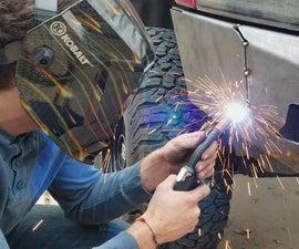 Hardcore Custom Truck Bumper Installation
