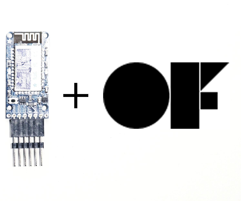 Connect Arduino to Open Frameworks via Bluetooth