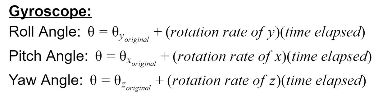 Even More Theory (Sensors, Math, and Angle Calculation)