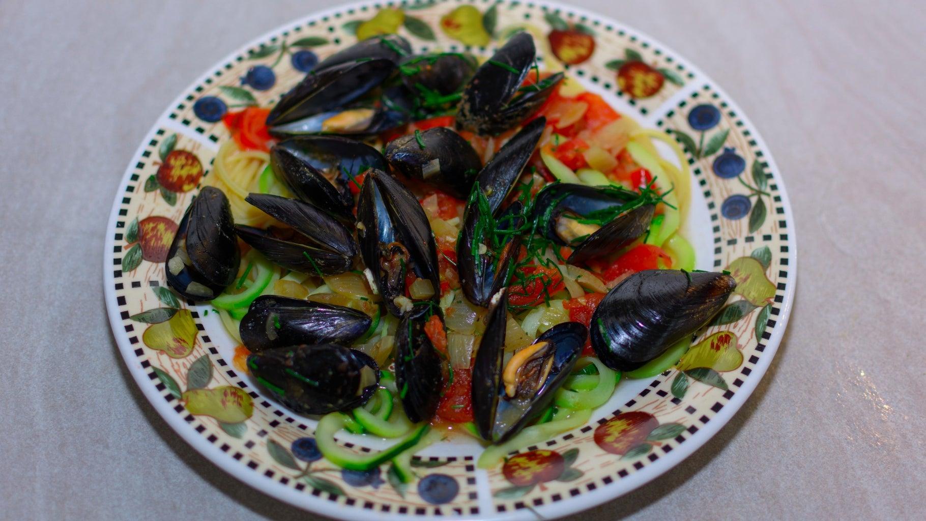 Delicious, Filling, & Healthy Seafood Pasta