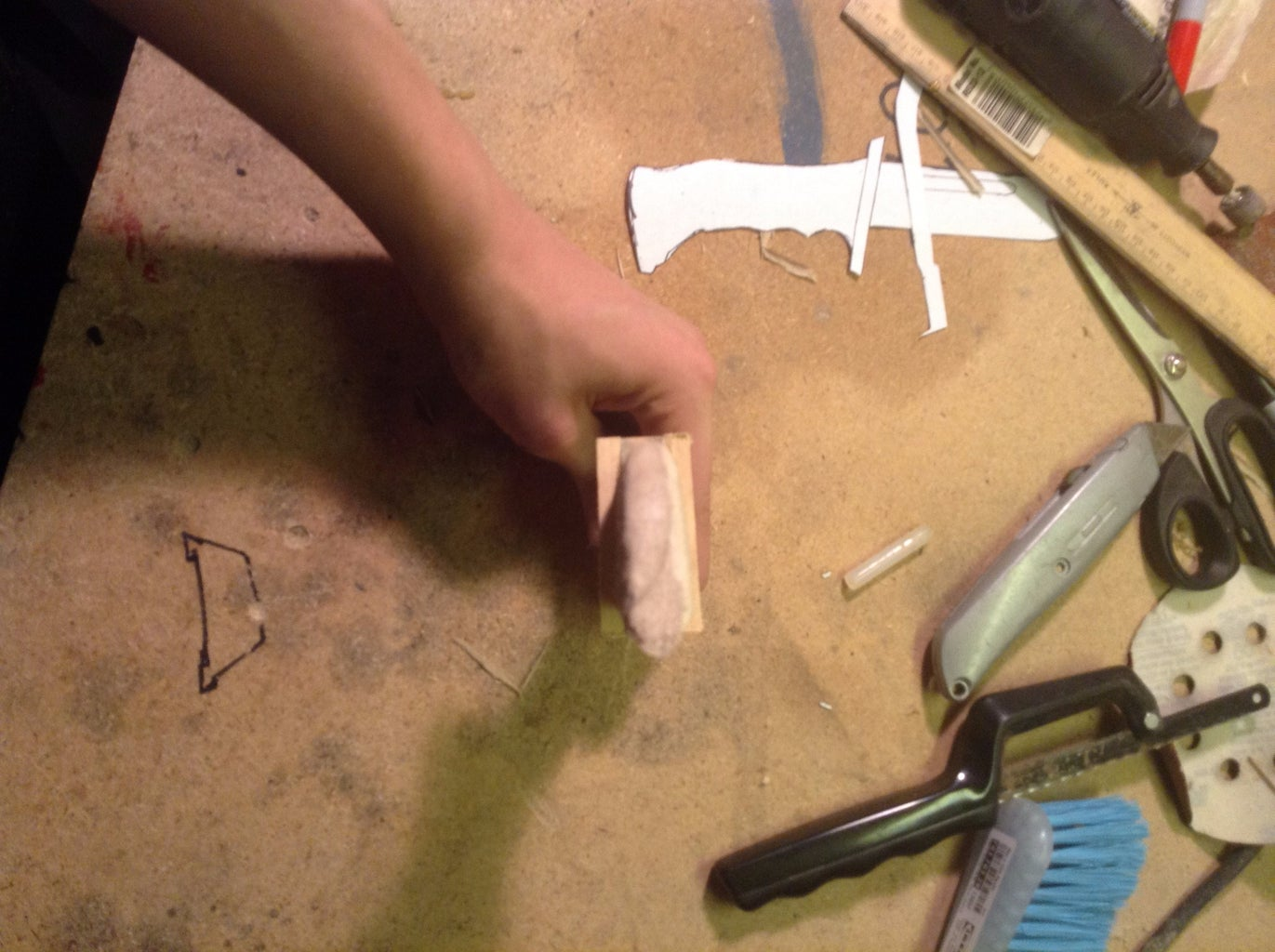 Sanding, Beveling, and the Guard