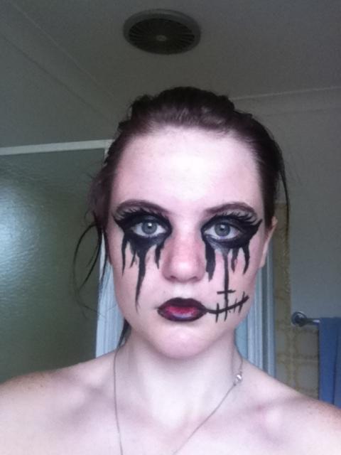 Andy Sixx, Black Veil Brides, make up