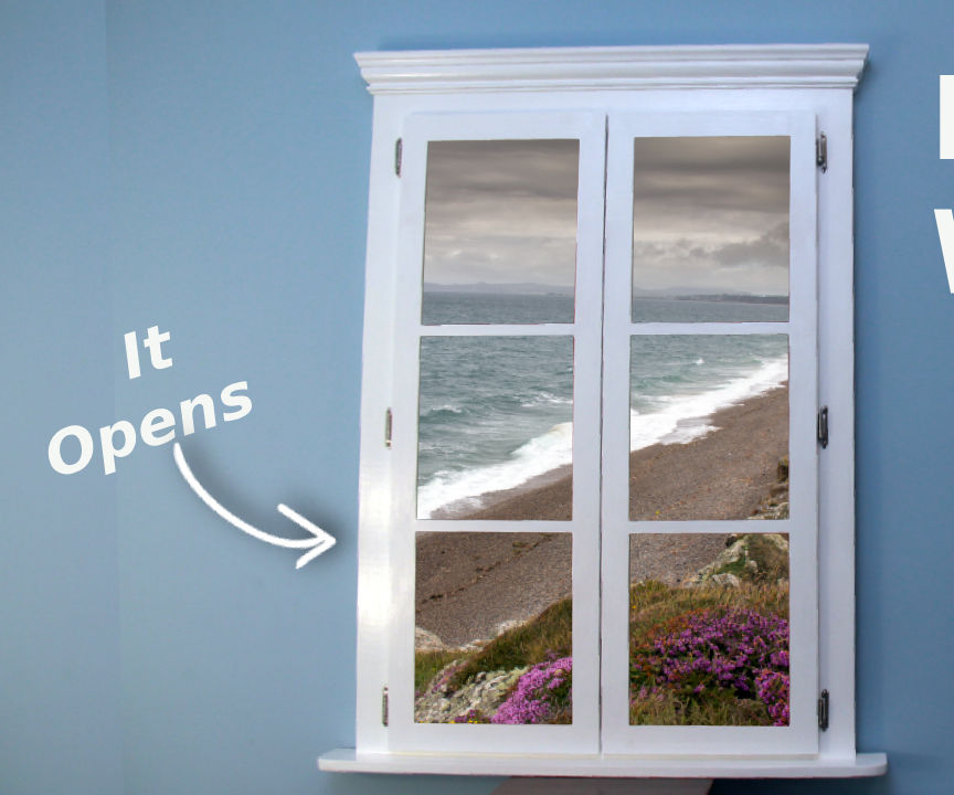 Faux Window With Your Favourite View
