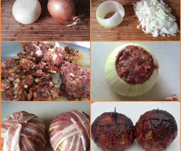 Meatball Onion BOMB