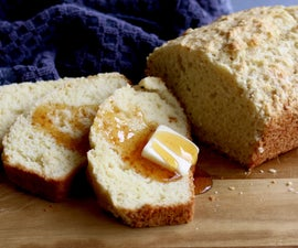 Lazy Man Buttermilk Bread Recipe   Quick and Easy