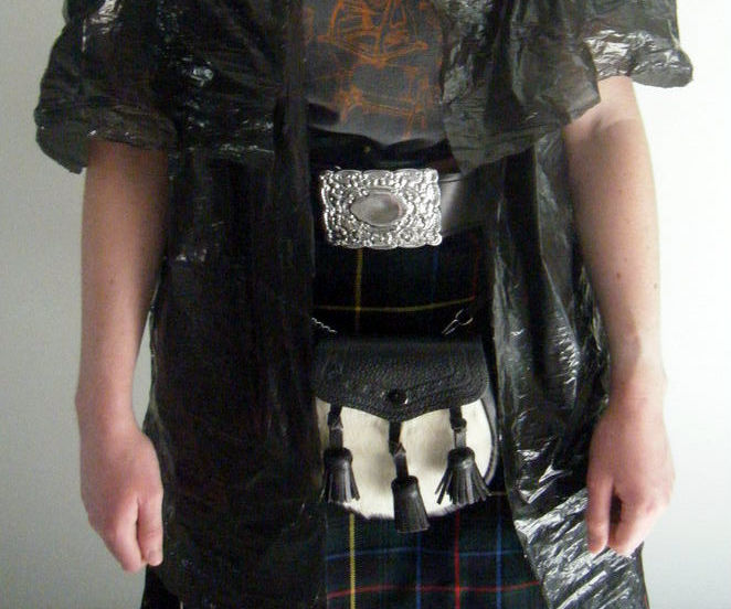 Inverness Cape From Garbage Bags
