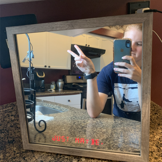 Electronic Affirmation Mirror