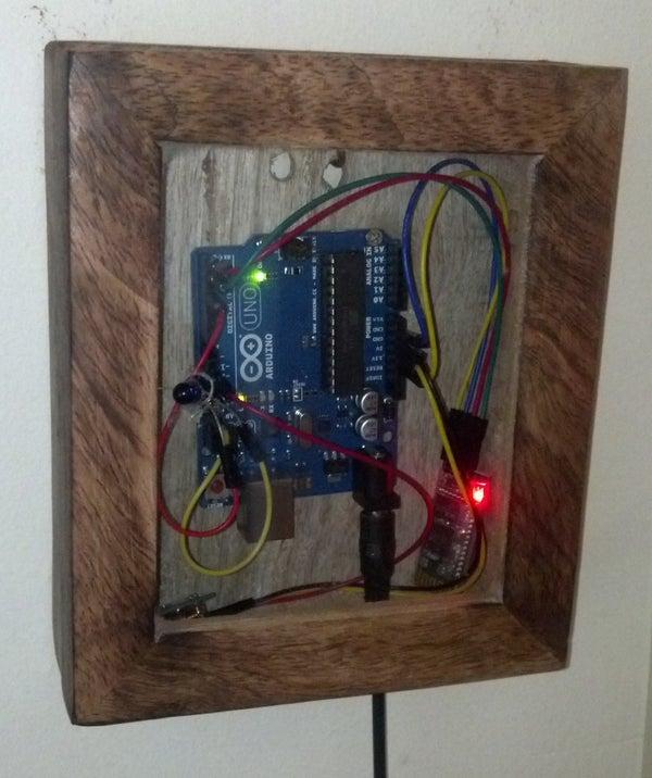 Infrared-RF 433-Bluetooth Arduino Remote
