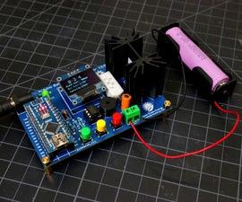DIY Arduino电池容量测试仪 -  v2.0