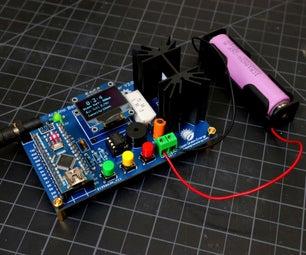 DIY Arduino Battery Capacity Tester - V2.0
