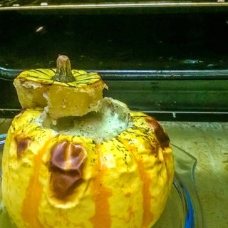Pudding in a Pumpkin