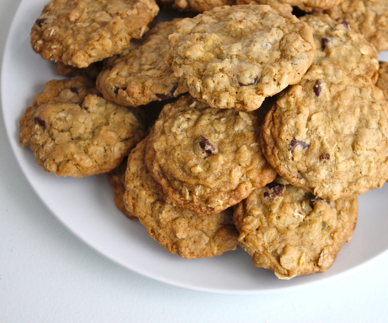 Dairy Free Oatmeal Cookies