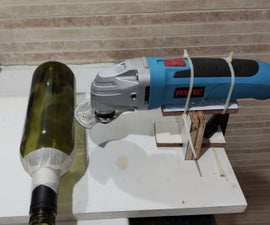 Use Oscillating Saw to Cut Glass Bottle