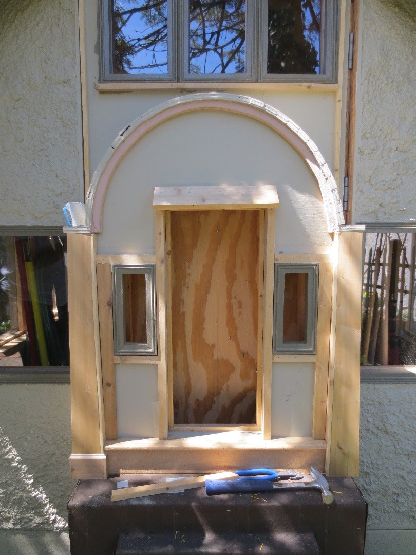 Front Facade (Finish Carpentry Meets 3D Printing)