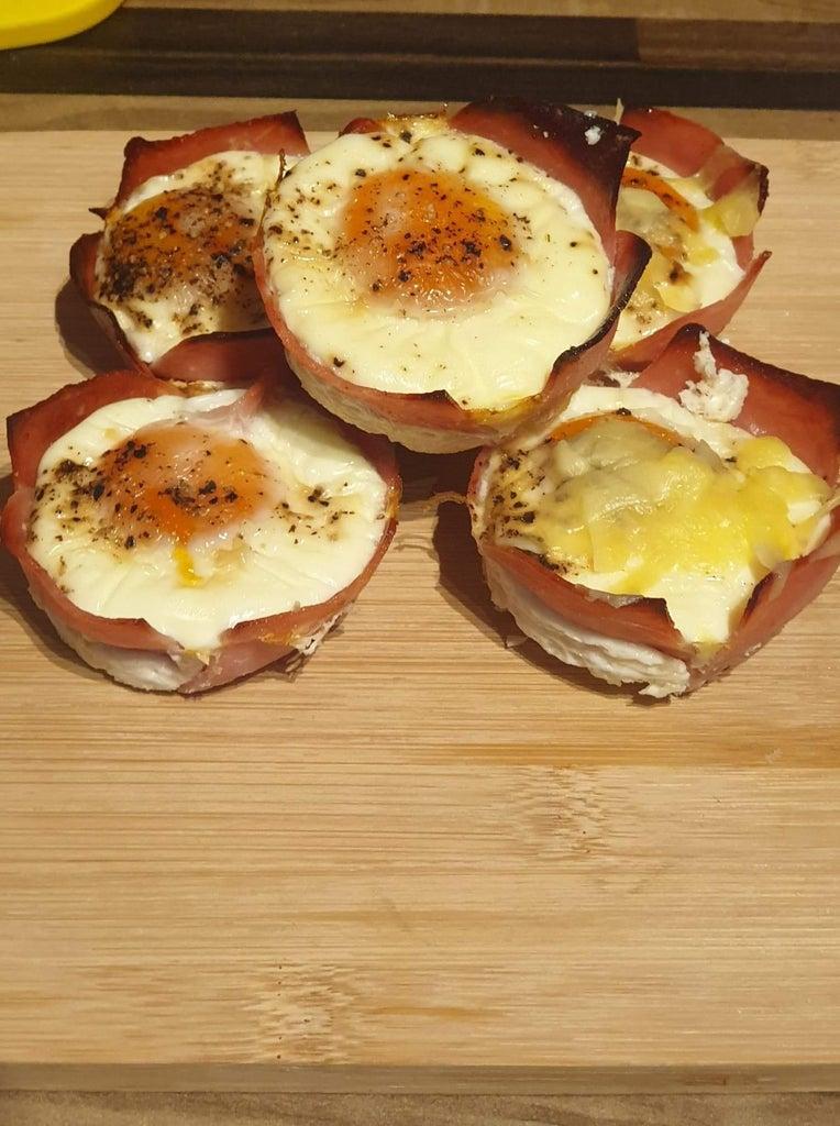 Ham & Egg Basket