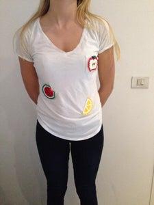 Strijkparels Sjabloon Op T-shirt