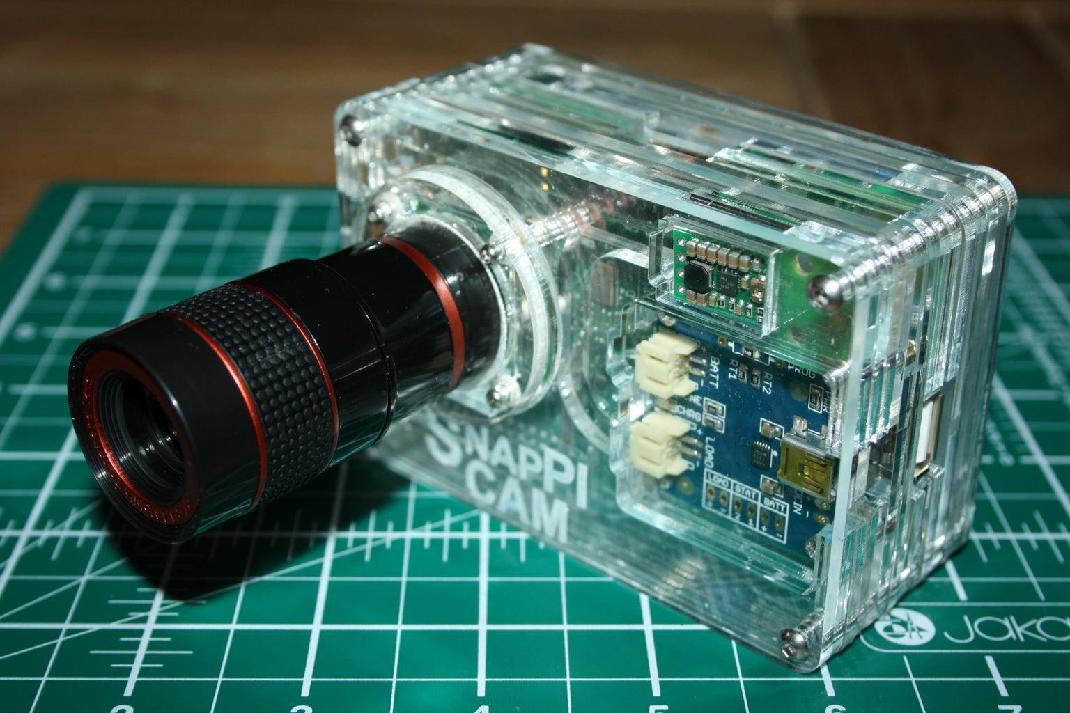 The SnapPiCam   a Raspberry Pi Camera