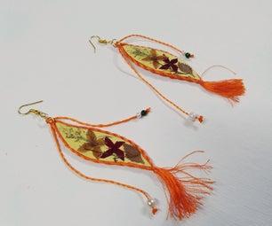 Dry Flower Earrings