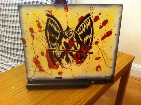Painting a Laptop