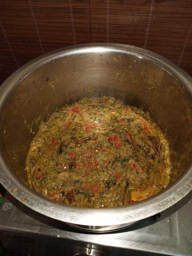 Prepare Chicken Masala for Biriyani