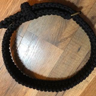 Double Cobra Knot Paracord Belt
