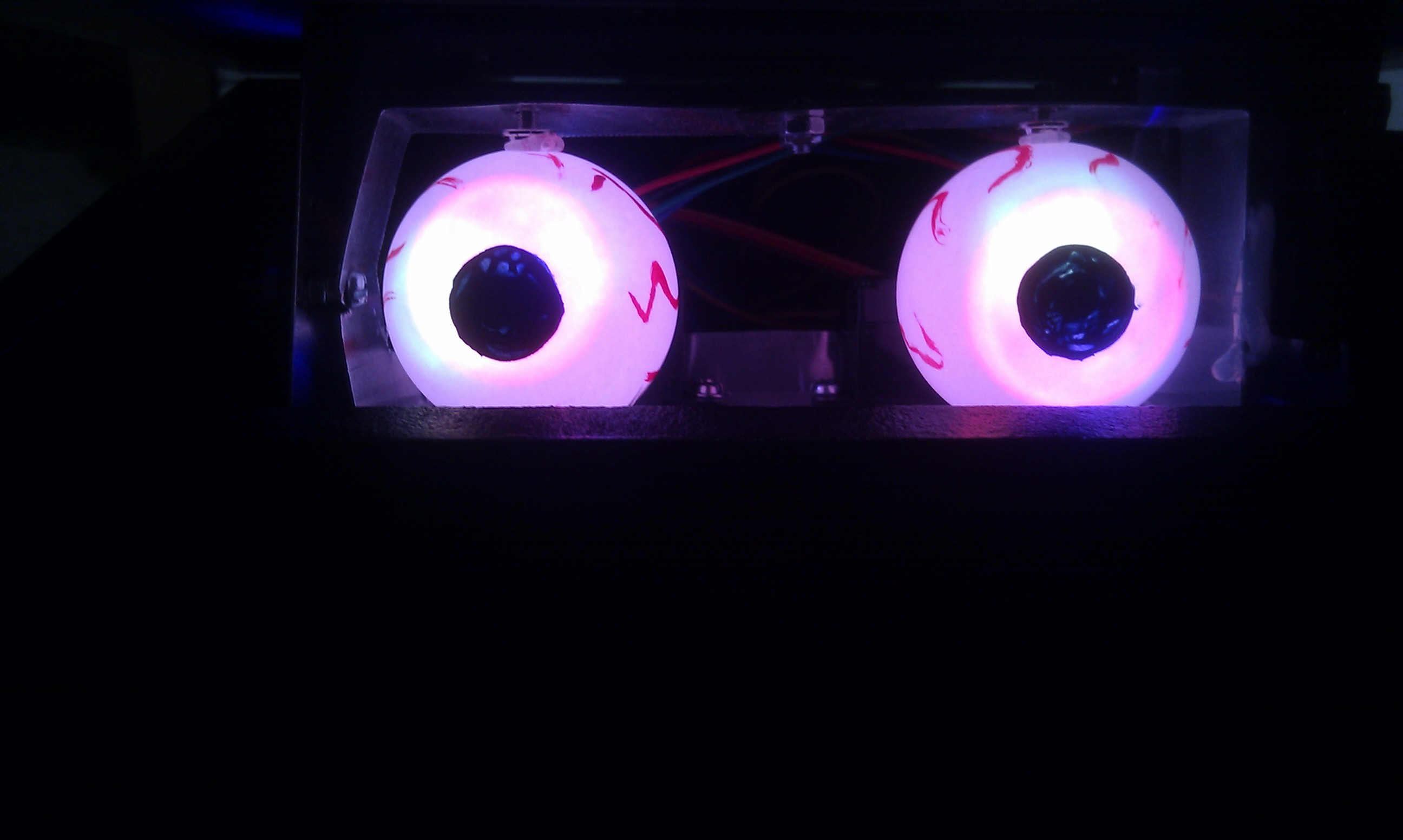 Eyes in a box