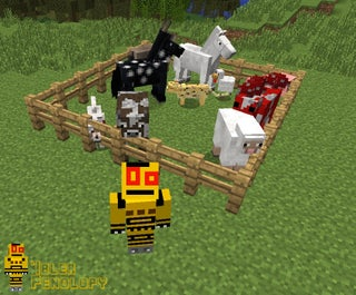 Minecraft Animals 13 Steps With Pictures Instructables