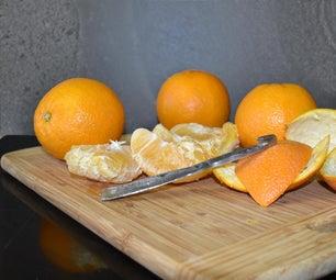 废钢去橘子皮。