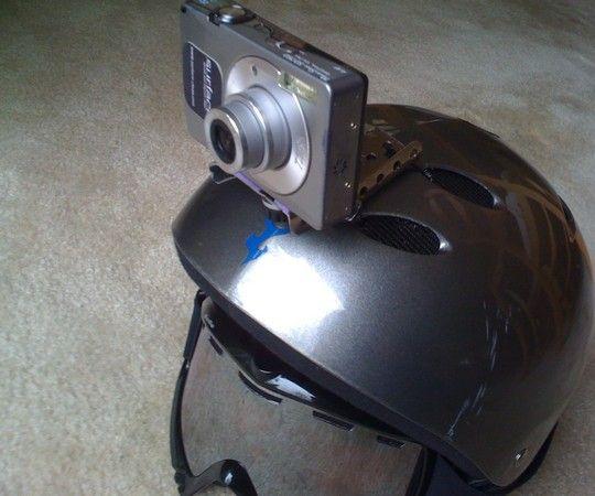 Home-made Helmet Cam