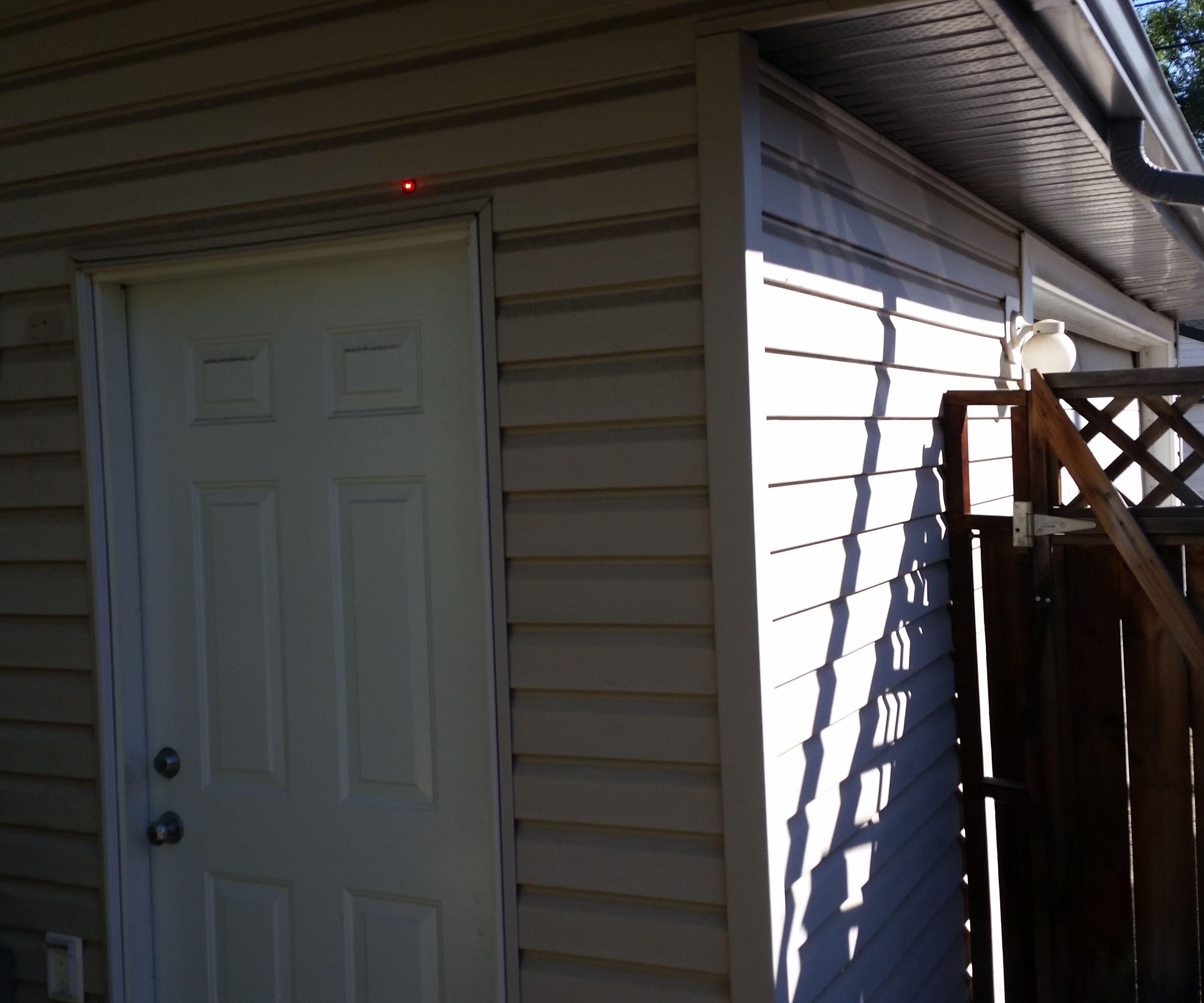 Garage Door Open position indicator light