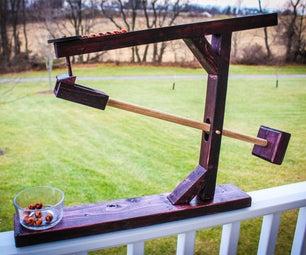 Wooden Marble Roller Machine