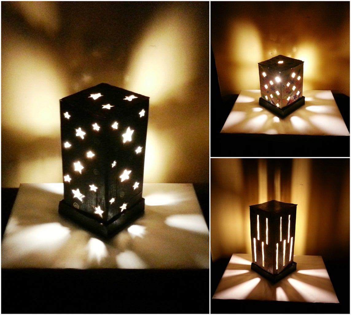 One Lamp, Multiple Shades! (easily Changeable)