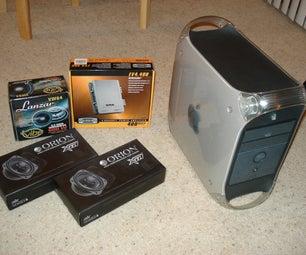 Mac G4 Turned Into IPod Dock