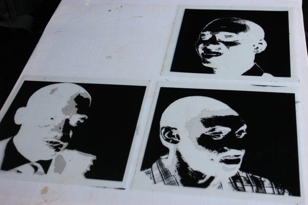 Pop Art Negatives for Lumi Inkofilm