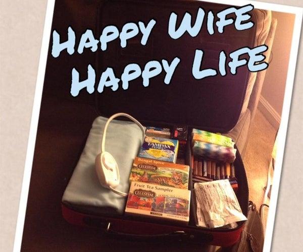 Happy Wife Happy Life Travel Kit